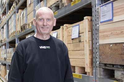 Bo Greve, Warehouse Manager.