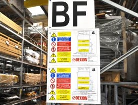Load and Assembly Signs