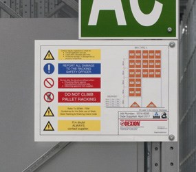 Load and Assembly Sign